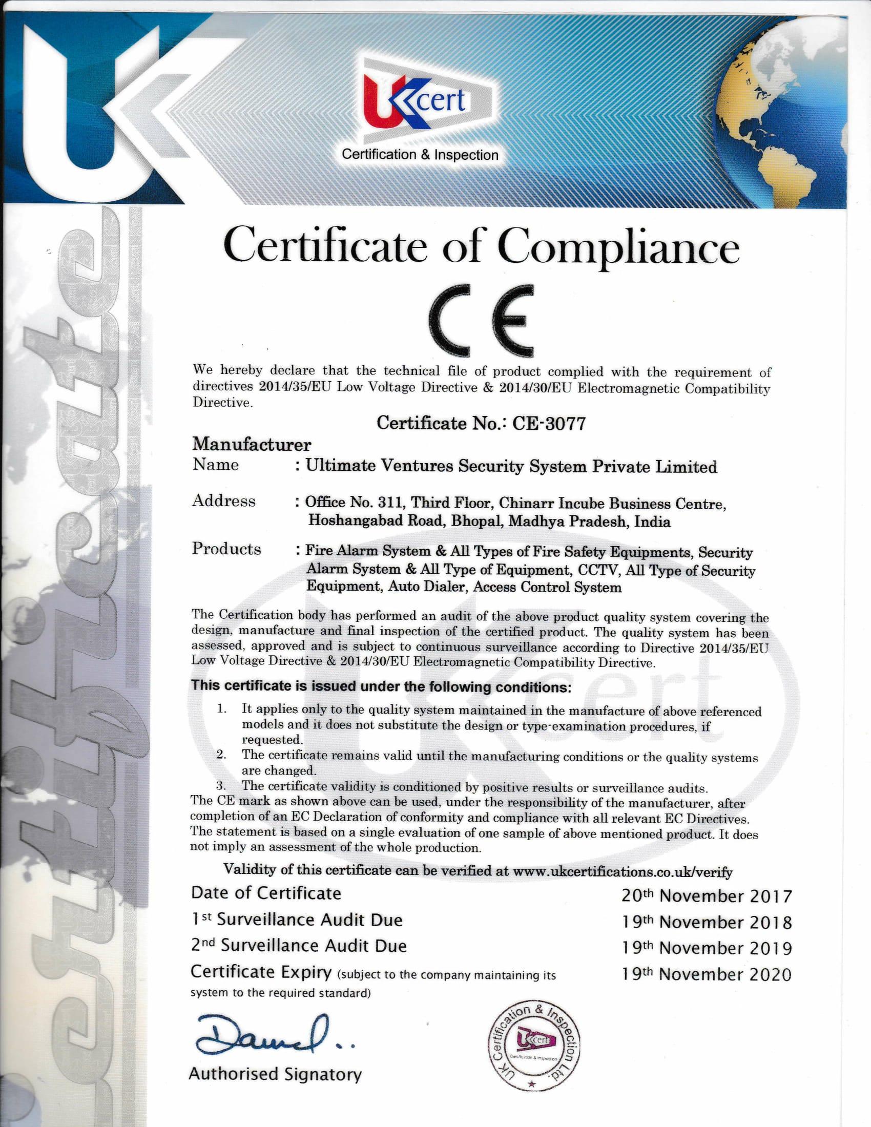 Ultimate Ventures Security System Pvt.Ltd